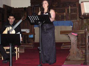 Alison McNeil and Sasha Savaloni in concert