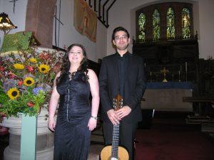 Alison McNeil and Sasha Savaloni