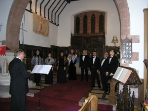 Voskresenije Choir at St Mary's