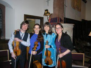 Kentigern String Quartet November 2016 at St Marry's