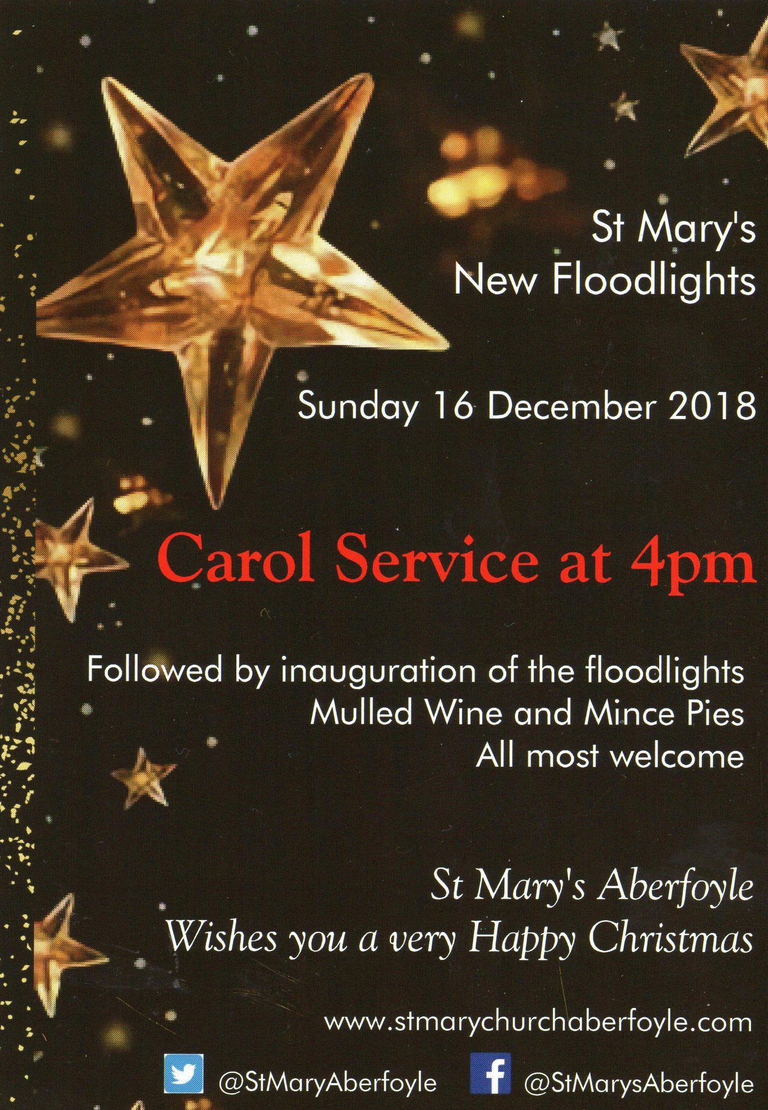 St Mary's Carol Service